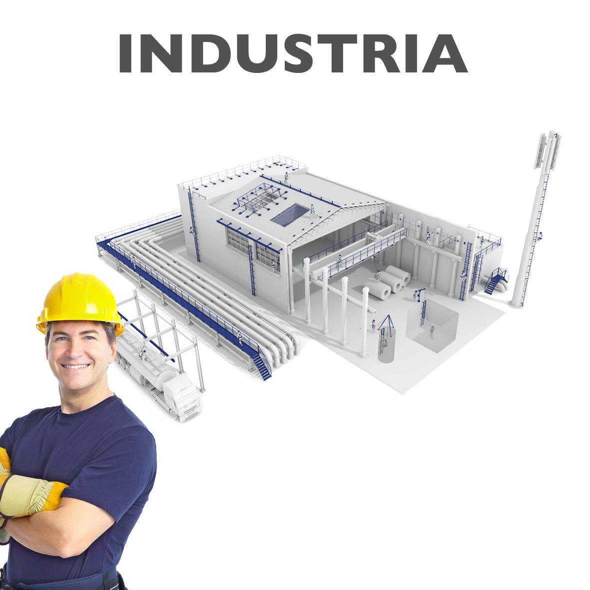 Sistemi anticaduta industria