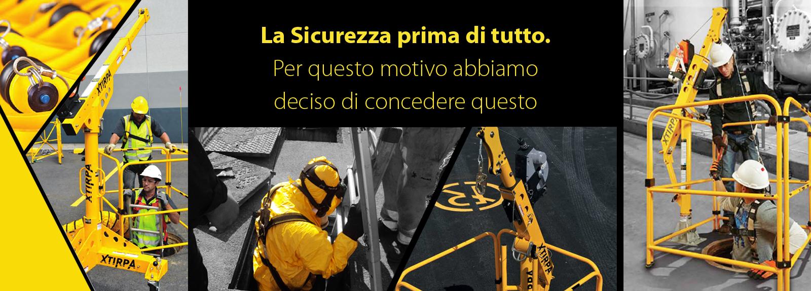 Noleggio spazi confinati Brescia