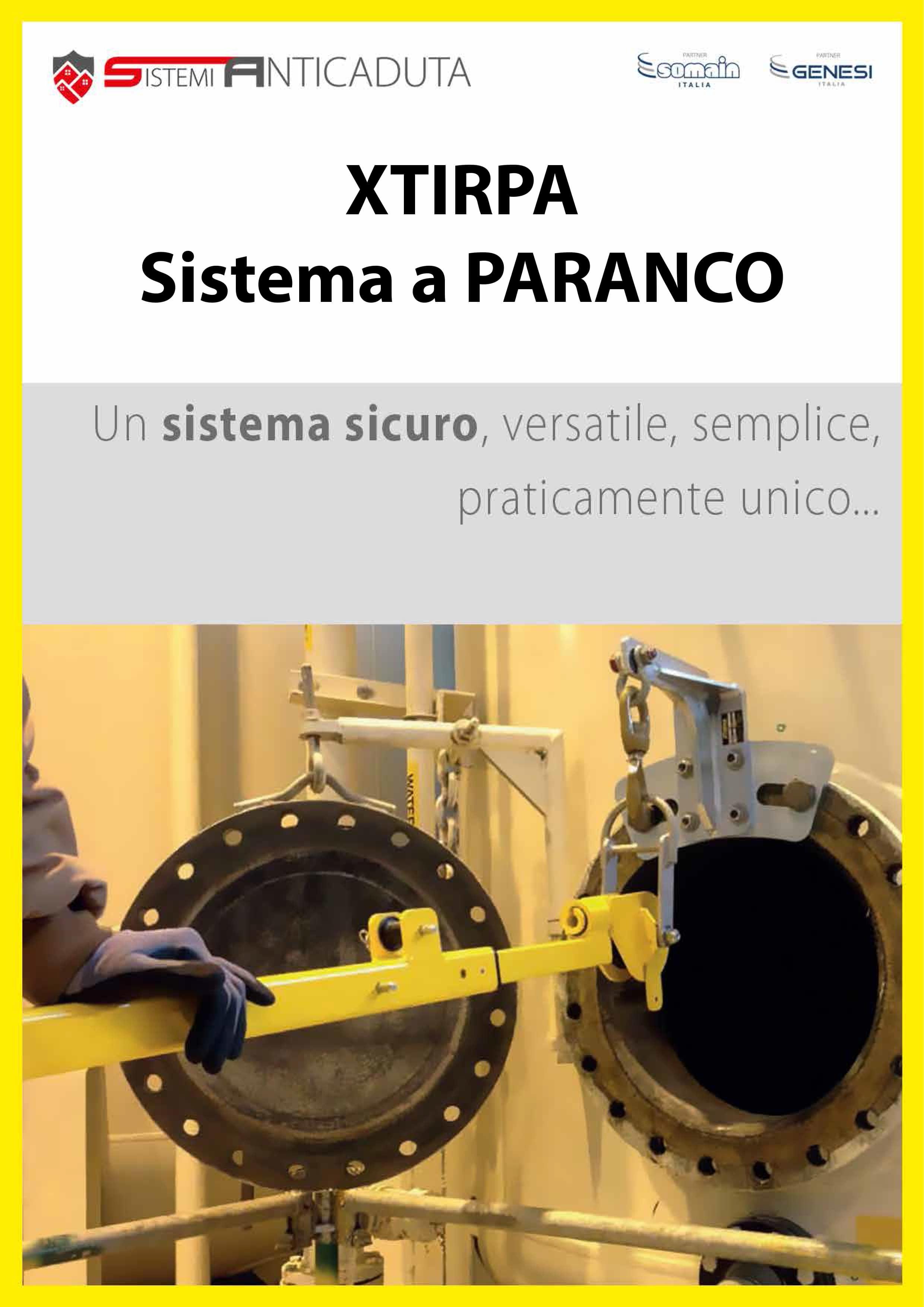 XTIRPA sistema a paranco